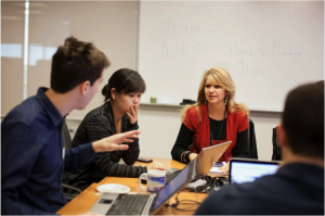 Done-in-a-Day Pro Bono: A team of Capital One employees  provide pro bono consulting to a non-profit client.